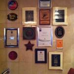 some of their many awards
