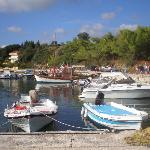Wee harbour at Tsilivi