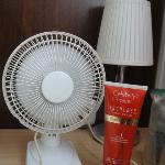  the little fan the hotel provide