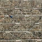 Yo en Abhaneri Step Well