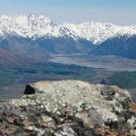  Southern Alps from summit of Peak Hill, Lake Coleridge