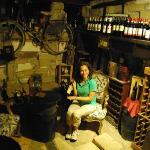 Wine Cellar Adjoining Restaurant