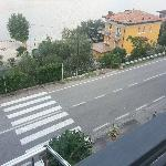  View of road from room