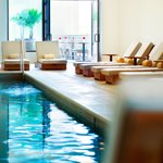 Lap pool and co-ed whirlpool