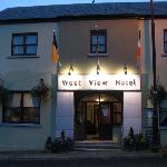 West View Hotel entrance