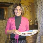 Our delightful hostess Gioconda
