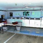 Cleaning area