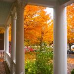  Front porch of Laurium Manor Inn