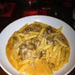 Sausage and penne