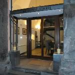 Entrance to the Hotel Rivoli