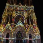  Catedral iluminada toda colorida! Mto legal!