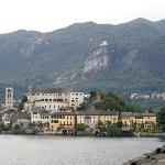 Isola San Giulio from our balcony