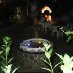 Nefeli Garden at night