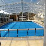  Piscine chauff et abrit