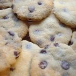 Delicious chocolate chip cookies on arrival