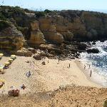 The gorgeous Praia da Coelha - Rabbit Beach