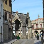  Guimaraes town square adjacent to the posada