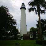 St. Simons Island lighthouse about 7 miles from hotel.