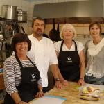 our cooking course with Ian