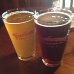 blonde ale and red sky ale