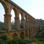 Roman Aqueduct in Tarragona