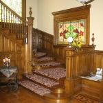 The gracious staircase.