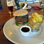 Haggis Burger. Superb!!!!