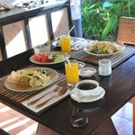 in-villa breakfast