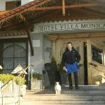  hotel monica - ingresso