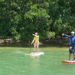 Guided Intro Lesson SUP Bay