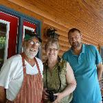 Phil & Barbara Thibodeau with my husband
