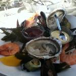 assiette fruits de mer