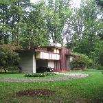 Penfield House, designed by Frank Lloyd Wright.