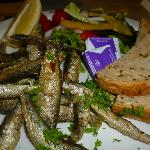 Fresh whitebait starter