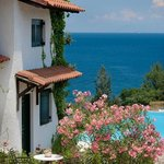 Sea view from Glyfada Beach Family Villas