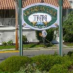 The hotel sign from the outside