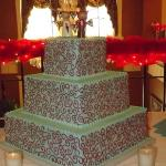  wedding cake on the Hotel Bothwell mezanine