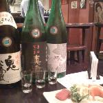  Our fantastic Sake Bar experience