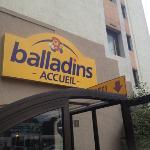 hotel Balladins right on top of McDonald. perfect if you love fast food. not so great for me