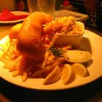  Beer battered Fish &amp; Chips