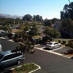 Courtyard by Marriott SLO (View Of Parking Lot from Room 227)