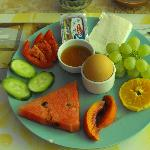 colourful breakfast