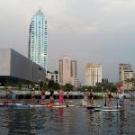 Destination tonight, Downtown Curtis Hixon Riverfront Park