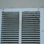  Mold on airvent in room