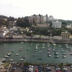 view of Torquay from the English riviera wheel!