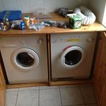 "Along with our ""stuff"", separate washer and dryer."