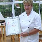 Kay with our 2012 breakfast award