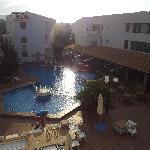 view from apartment 22 fiscus flora apt puerto pollensa