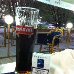 Krusovice beer.