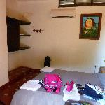 Double room with a/c at Aluna
